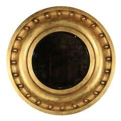 Gilded Antique Circular Mirror