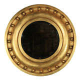 Gilded Antique Circular Mirror