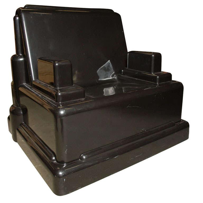 Marco Zanini Fiber Glass Chair