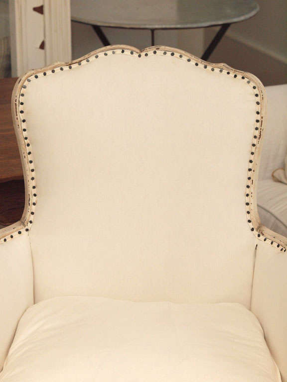 Pair of 19th Century Louis XV French Bergeres Chairs 3