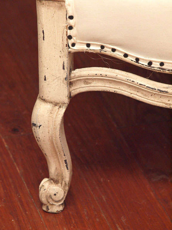 Pair of 19th Century Louis XV French Bergeres Chairs 6