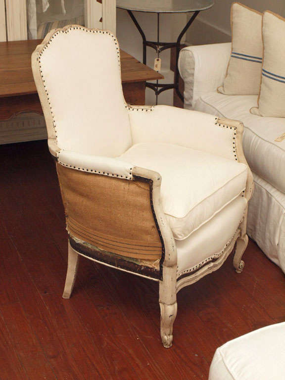 Pair of 19th Century Louis XV French Bergeres Chairs 9
