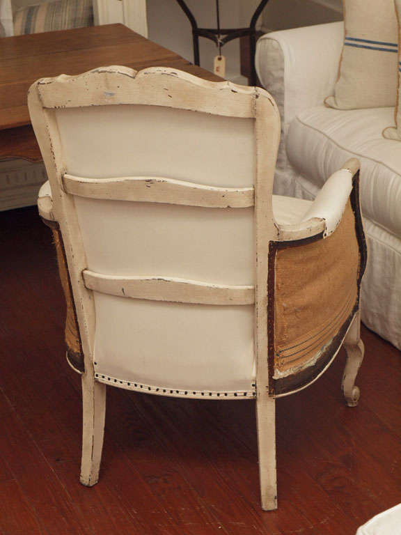 Pair of 19th Century Louis XV French Bergeres Chairs 10