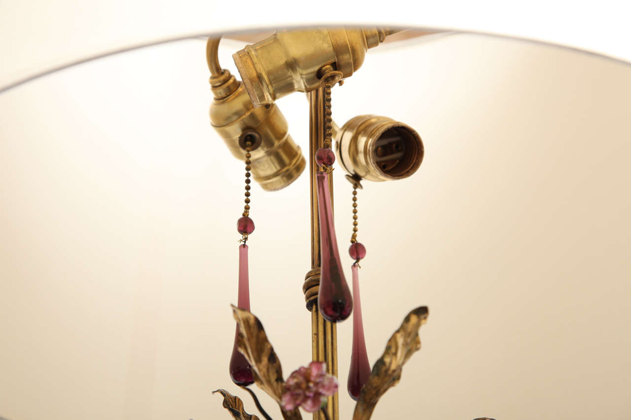 1920s Sculptural Art Deco Patinated Brass Floor Lamp For Sale 5