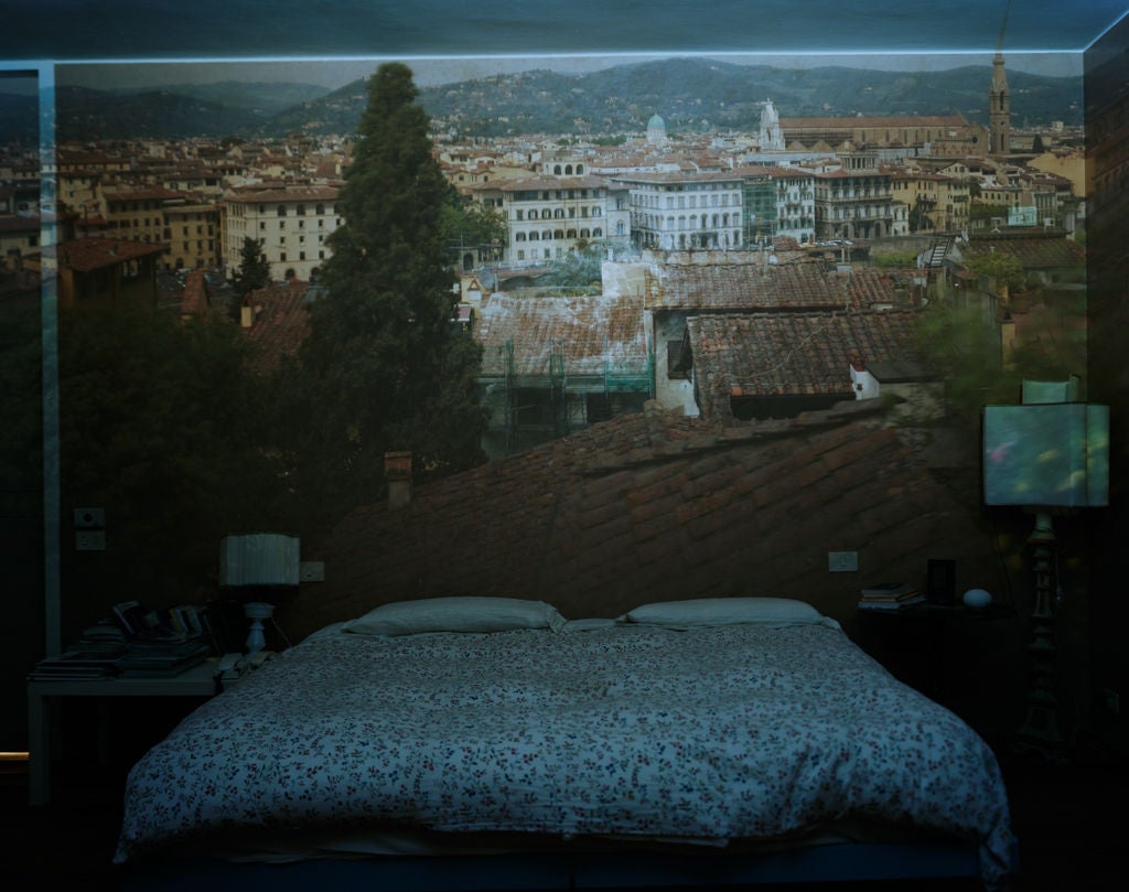 Abelardo morell camera obscura view of florence looking for Ice fine jewelry bend oregon