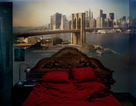 Camera Obscura:View of the Brooklyn Bridge in Bedroom, 2009