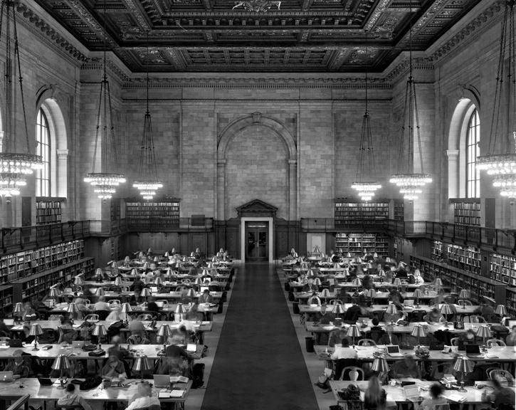 Matthew Pillsbury New York Public Library Main Reading