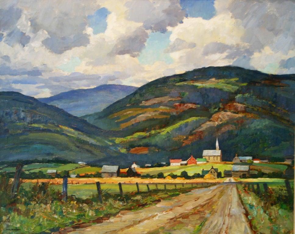 Tom Roberts Quebec Landscape At 1stdibs