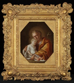 Joseph Holding the Christ Child