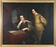Portrait of George and Edward Finch-Hatton in Van Dyck Dress
