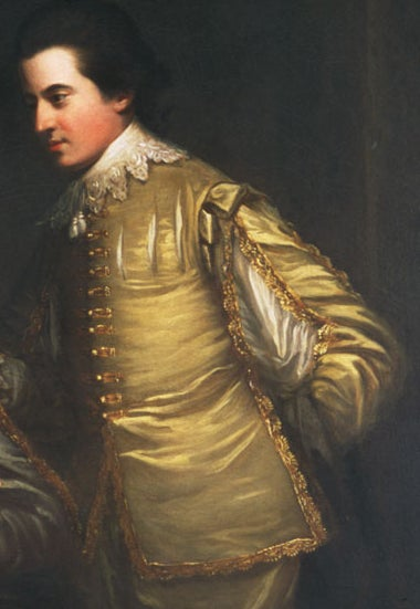 Portrait of George and Edward Finch-Hatton in Van Dyck Dress For Sale 1