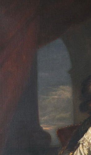 Portrait of George and Edward Finch-Hatton in Van Dyck Dress For Sale 3