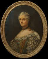 Portrait of a Noble French Lady