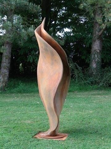 Wind Dancer - Sculpture by Anne Curry