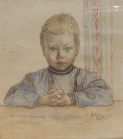 Portrait of Esbjorn (Study for The First Lesson)
