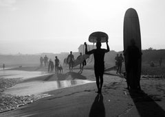 """""""Longboard Afternoon, Ditch Plains"""", Montauk, New York, 2010"""