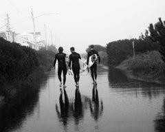 """Three Surfers"", Sea Isle, New Jersey, 2009"