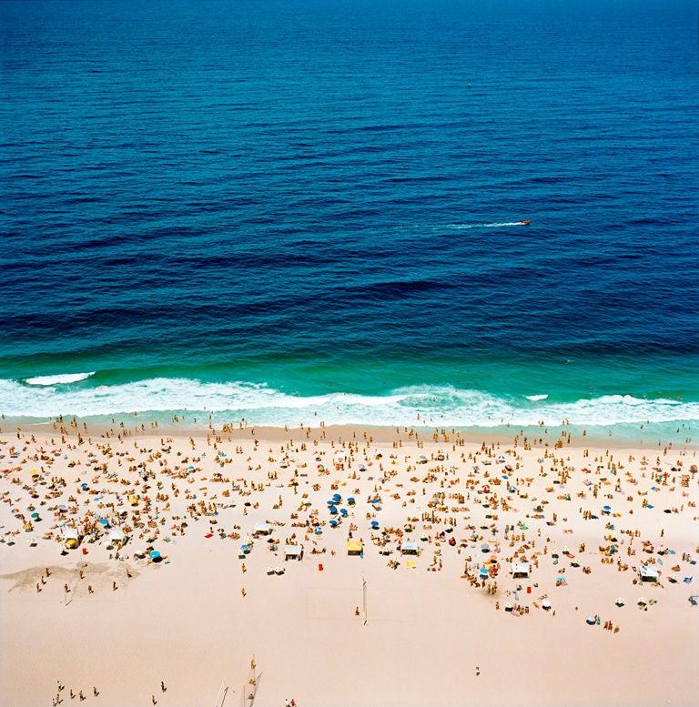 """Micheal McLaughlin Color Photograph - """"Beach, Rio"""", Brazil, 2002"""