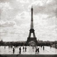 Eiffel Silhouette, Paris France
