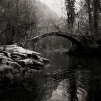 Roman Bridge, Mellor Cheshire UK