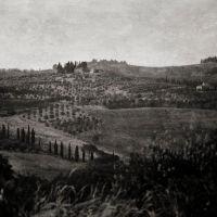 Tuscan Landscape, Bacio Tuscany