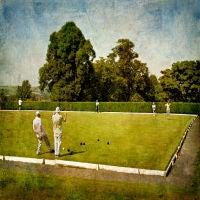 Crown Green Bowls, Marple, England