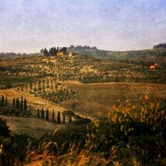 """Tuscan Landscape"", Bacio, Tuscany, 2006"