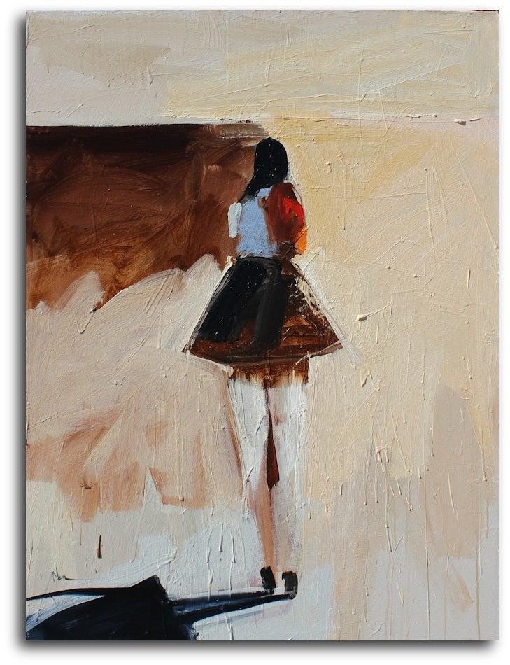 Far Away - Painting by Neil Nagy
