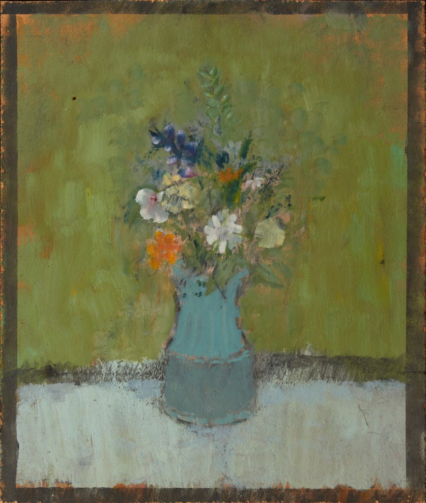 John Edward Heliker - Small Bouquet, Painting at 1stdibs