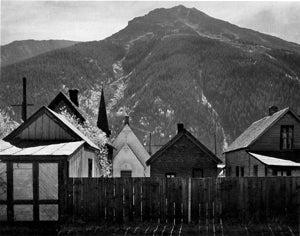 Ansel Adams Black and White Photograph - Silverton, Colorado