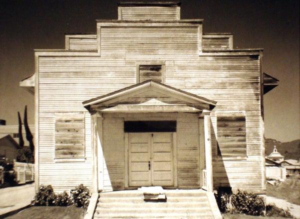 Meeting House Davenport, California, 1975