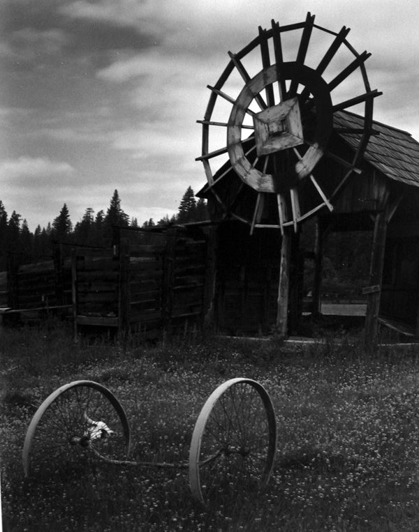 Edward Weston Black and White Photograph - Meyer Ranch, Yosemite, 1938