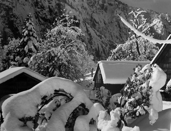 Edward Weston Black and White Photograph - Ansel Adams Darkroom, Yosemite
