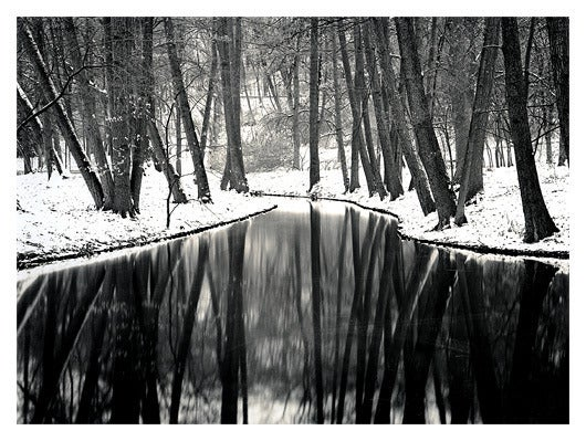 Roman Loranc Landscape Photograph - Winter Reflections