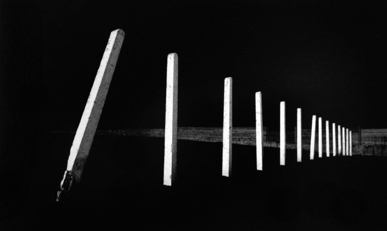 Tilted Poles, Rhyl, Clywd, Wales