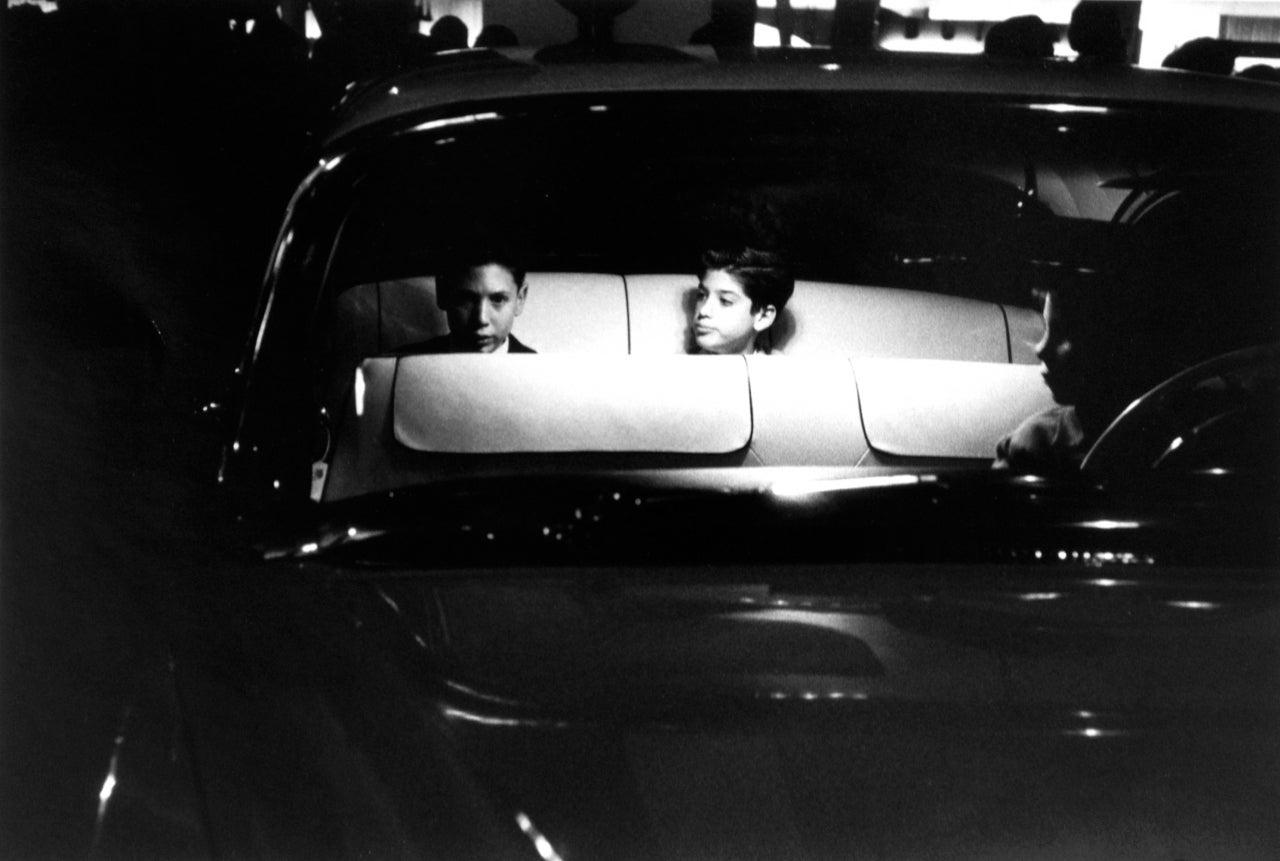 Robert Frank Black and White Photograph - Motorama, Los Angeles