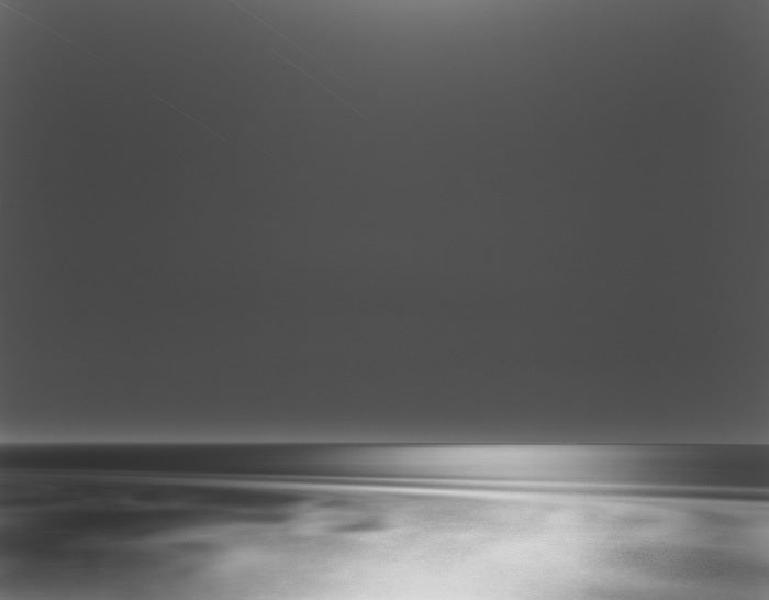 Chip Hooper Black and White Photograph - Moonlight, Mendocino