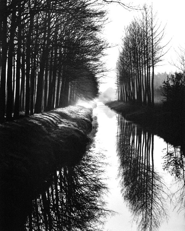 Brett Weston - Holland Canal 1