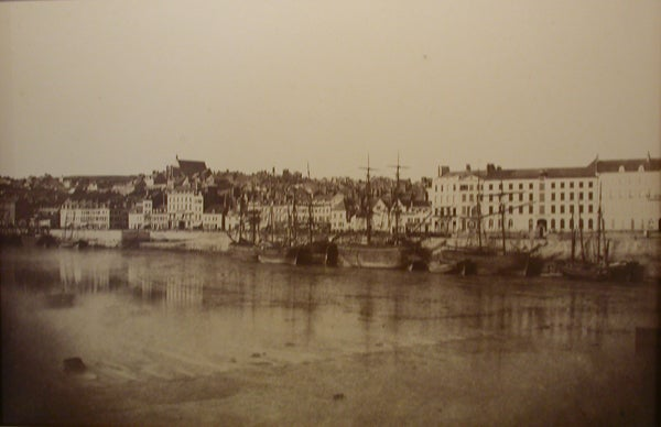Edouard denis baldus vue du port de boulonge photograph for sale at 1stdibs - Edouard denis envers du decor ...