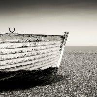 Beached Fishing Boat I