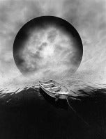 Jerry Uelsmann - Boat and Sphere 1982