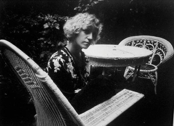 Gwen, In the Wicker Chair