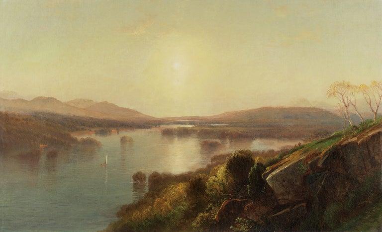 Samuel Colman Landscape Painting - Morning
