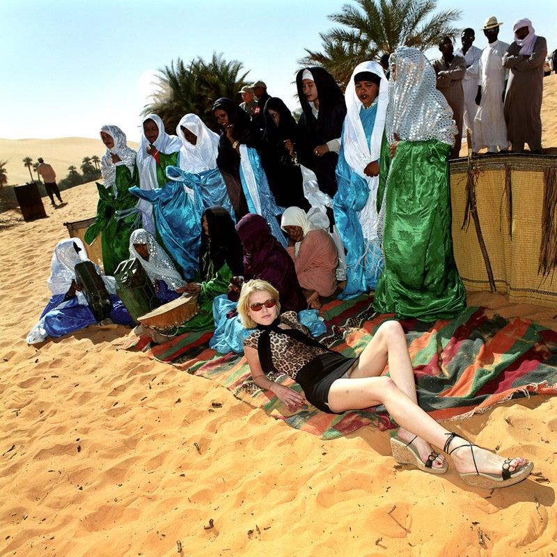 Gorana Relic, Miss Net Croatia in Sahara