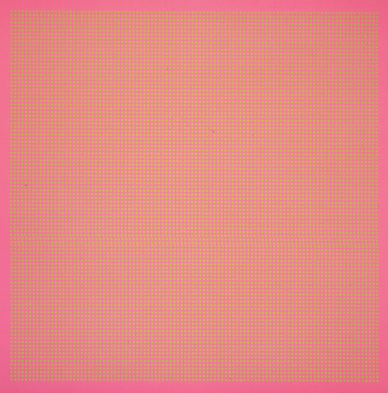 Olivier Mosset Abstract Print - Untitled Sans (Without)