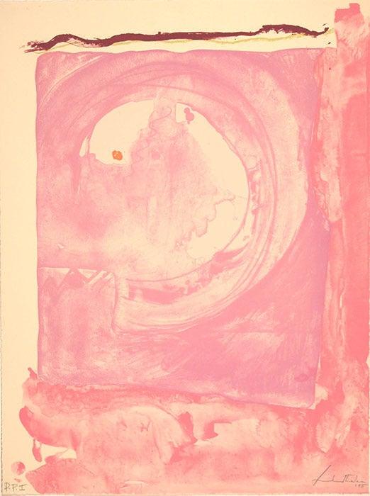Helen Frankenthaler - Reflections IX, PP1 1