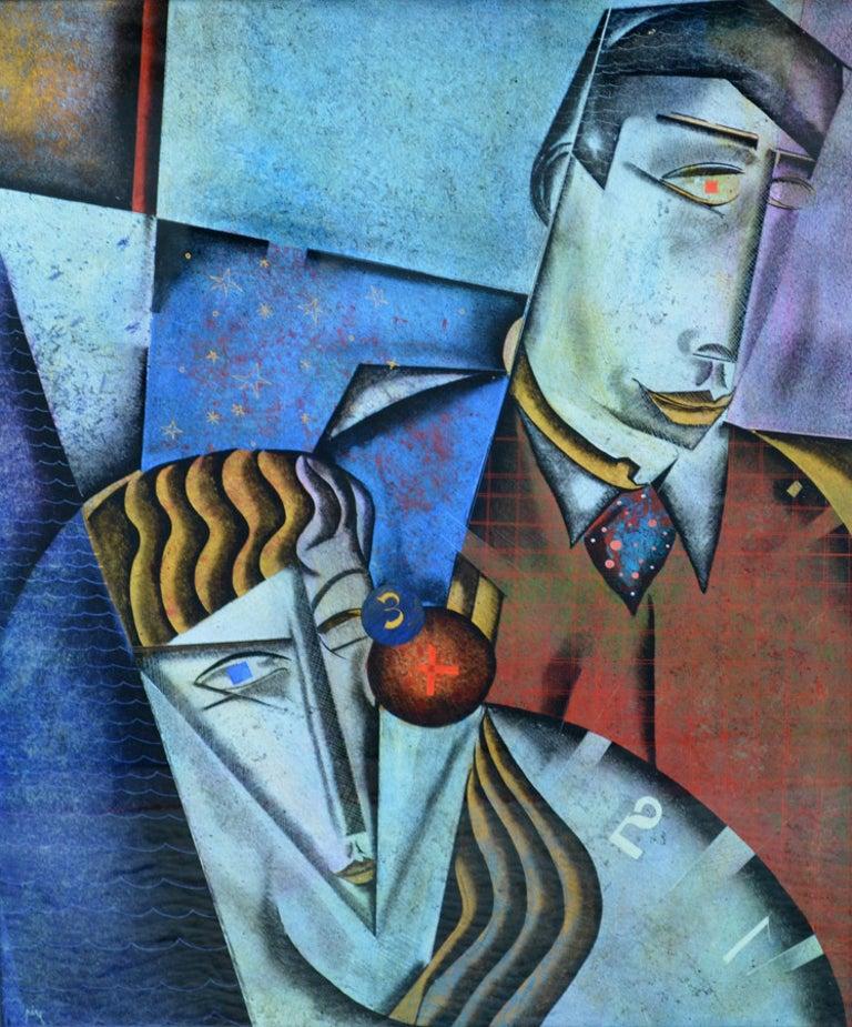 Ferdinand Pire Abstract Painting - Raison d'etre