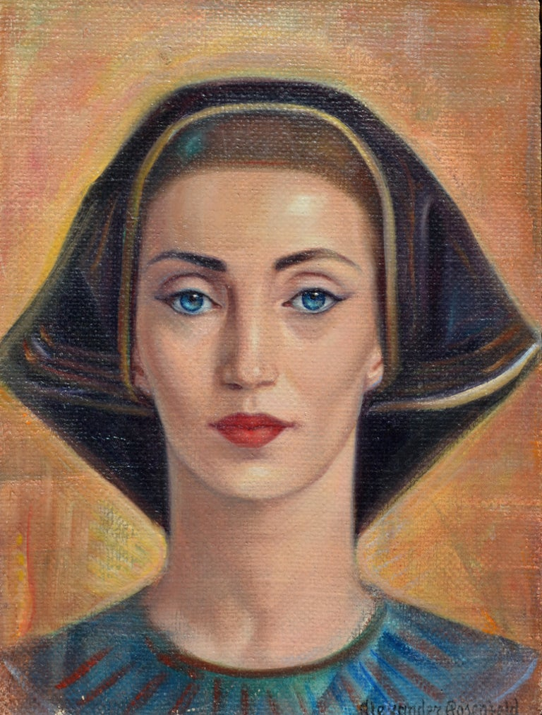 Alexander Rosenfeld Portrait Painting - The Princess