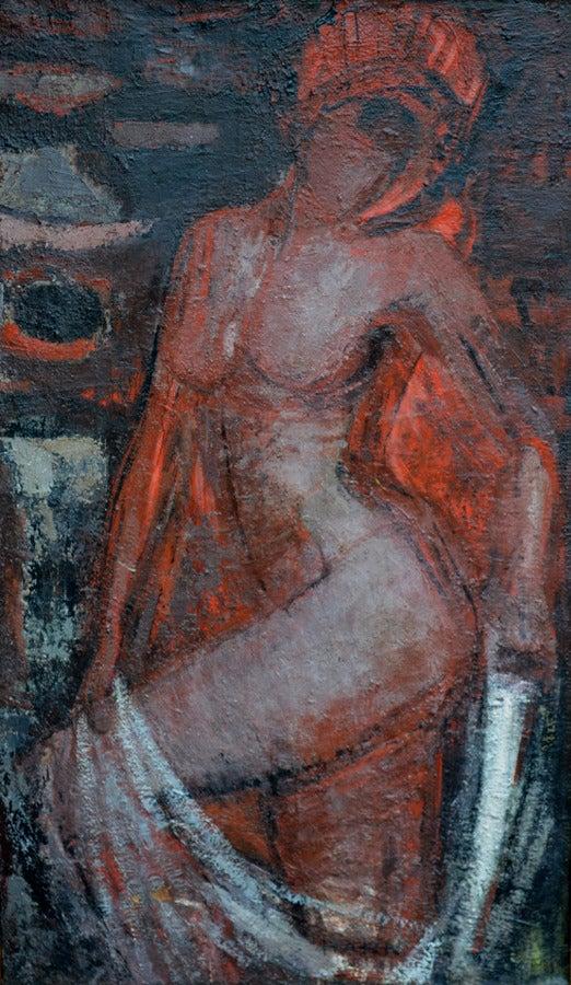 Friedemann Hahn Figurative Painting - Salome'