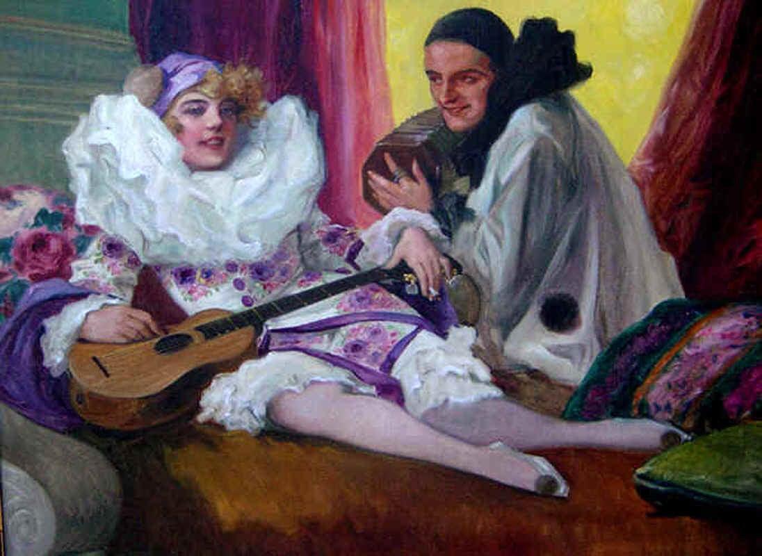 Richard Geiger Interior Painting - Duet